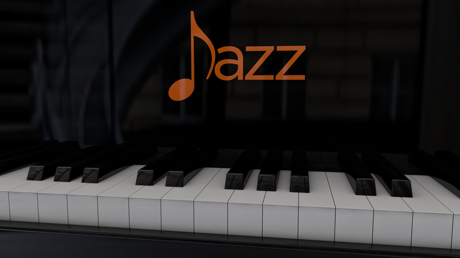 Abstract Jazz Wallpaper Piano jazz by leobonilha