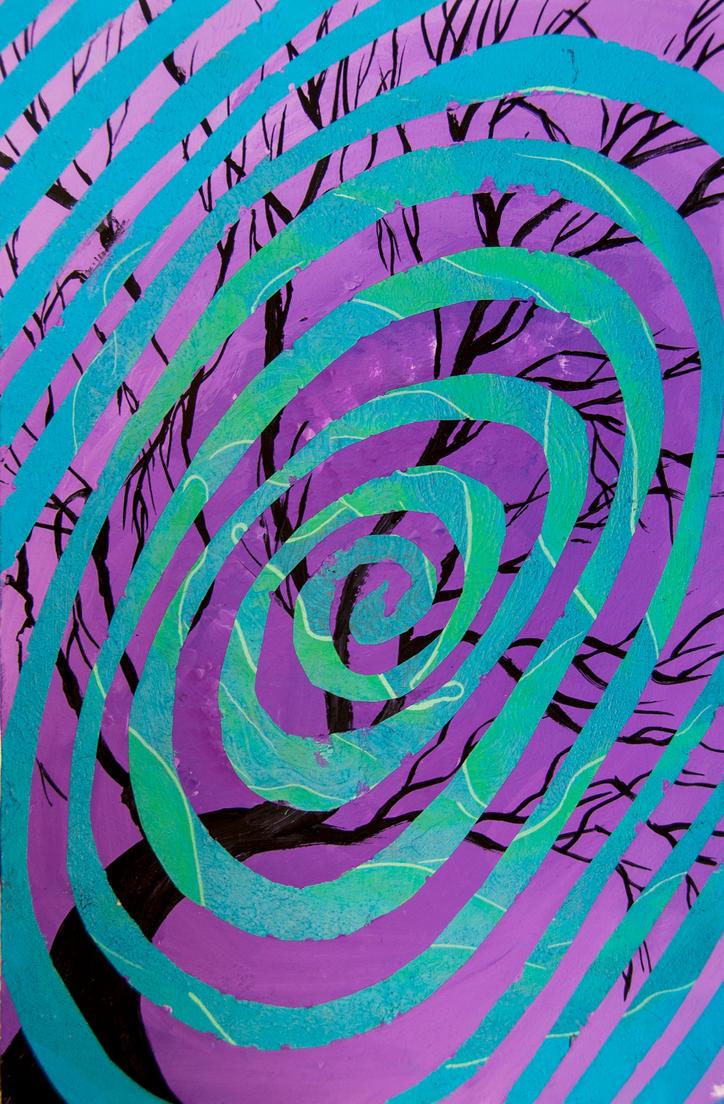tree spiral by aeravi