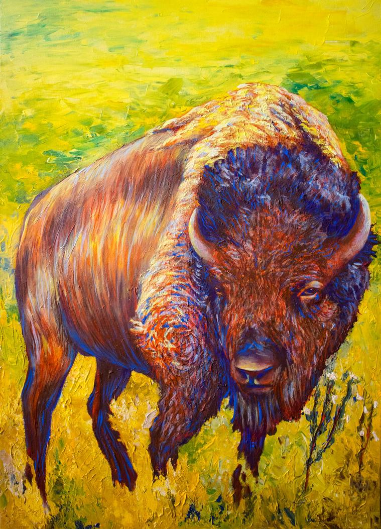 Bison by aeravi