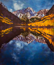 Maroon Bells Autumn Colors