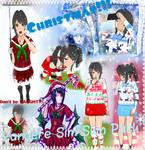 Yandere Sim *Christmas Skin Pack*