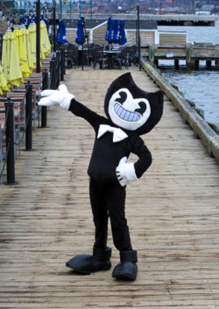 I Caught Bendy Costume by ralphsoliman