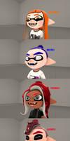 (SFM Splatoon) all Voice Memes in Splatoon!