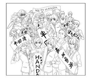 Handa-kun WIP