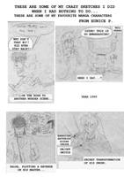 Manga Characters - OLD by Eunice-P