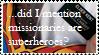 Missionary stamp. by Trekdisco