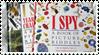 I Spy Stamp by NeversideFaerie