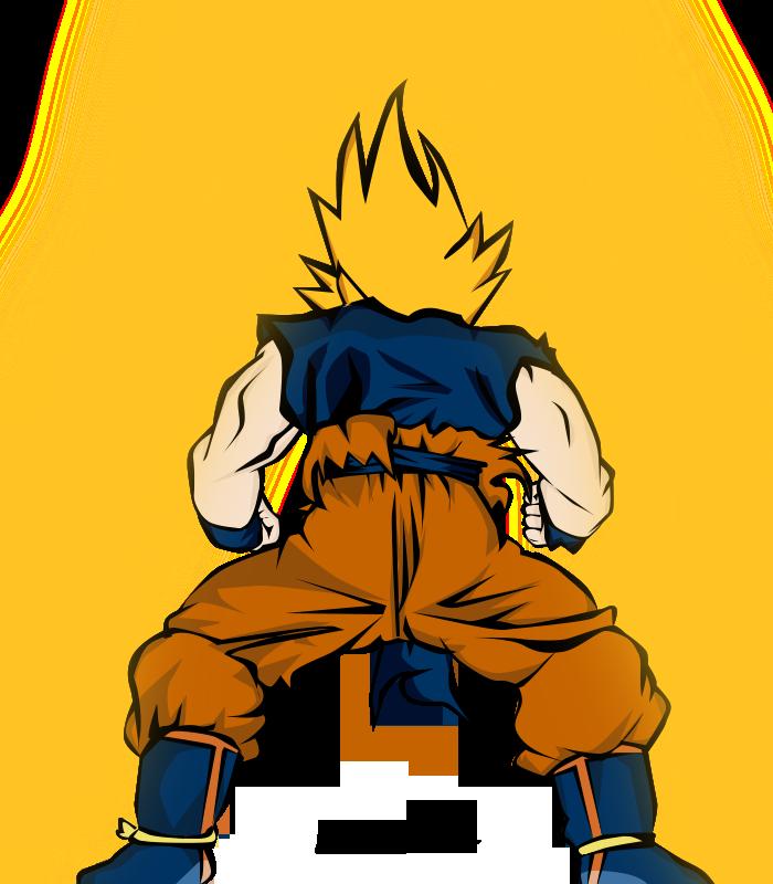 Super Saiyan Back By By ~SuperMavee By SuperMavee On