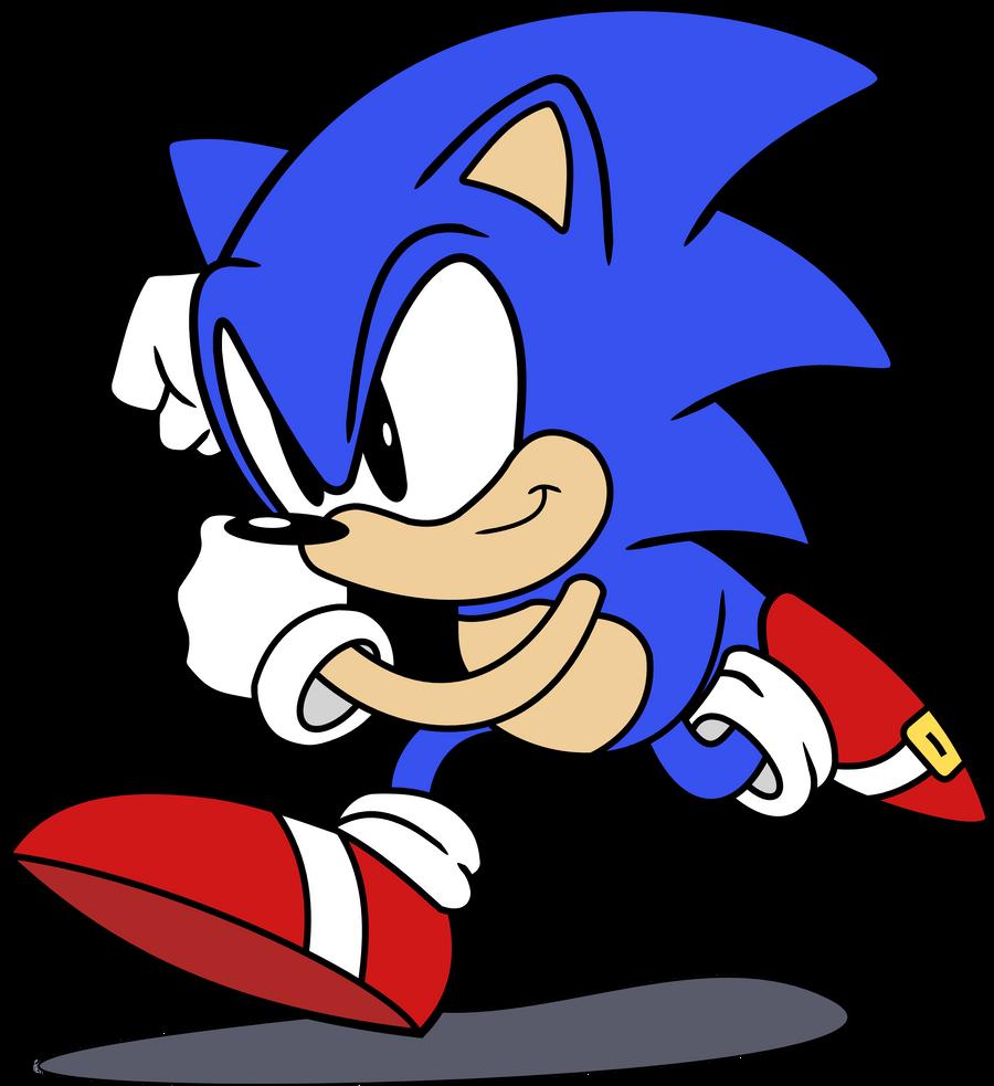 Sonic The Hedgehog Classic By Raindashy On Deviantart