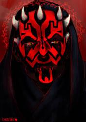 fanart: Darth Maul - Star Wars by CrunChester