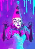 fanart: Sasha Velour - Rupaul's Drag Race by CrunChester