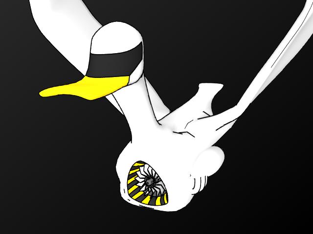 Ducki - Flight by Nicekiwi