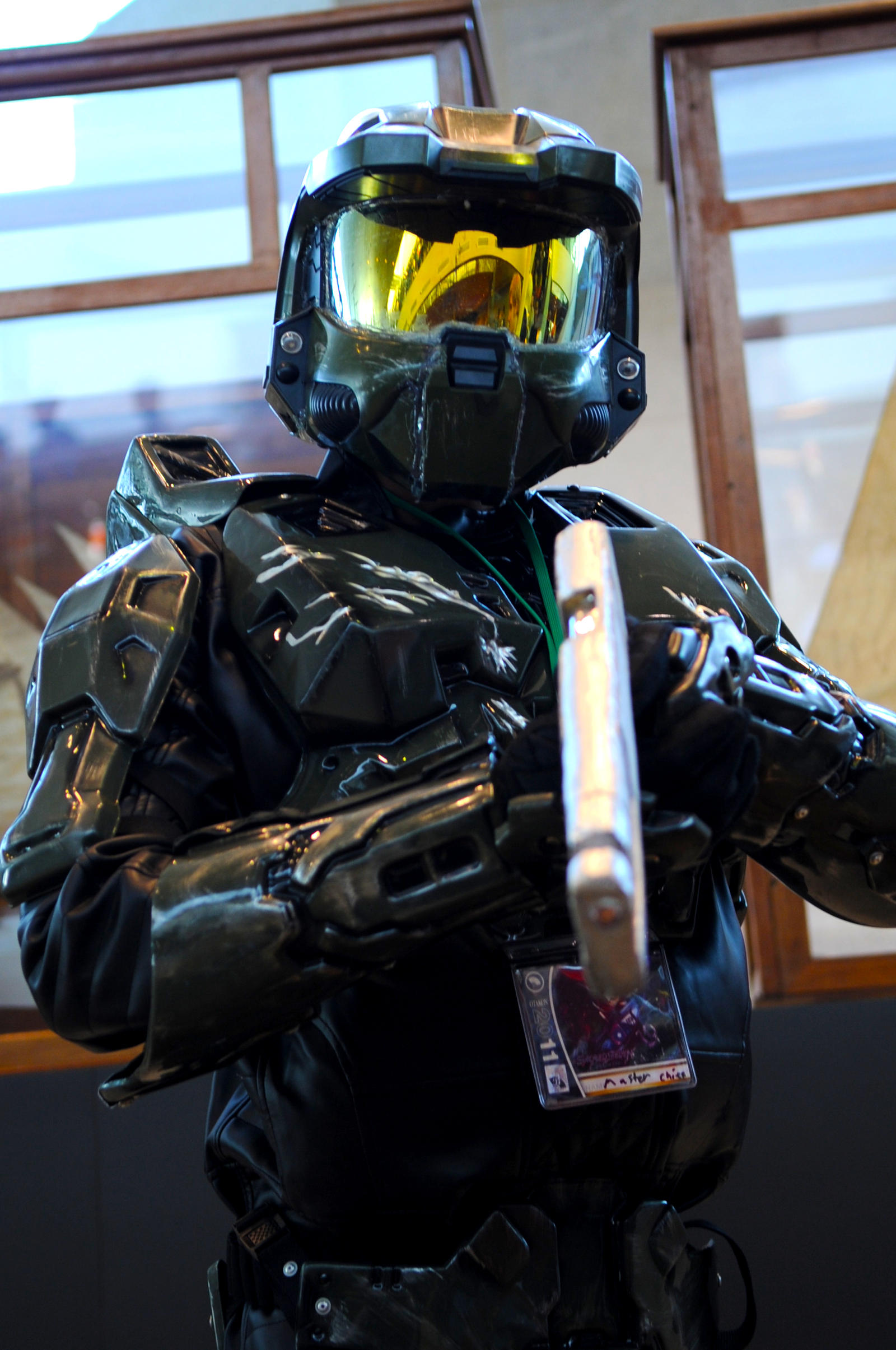 Otakon Master Chief by DarkGyraen