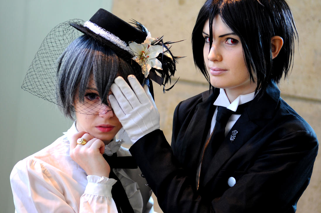 Otakon 2011 Ciel and Sebastian by DarkGyraen