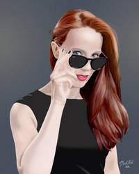 Simone Simons of Epica by fireless-eyes