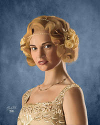 Lady Rose Aldridge (Lily James) by fireless-eyes