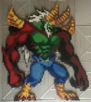 Elfman (Beast Soul) Perler by TehMorrison