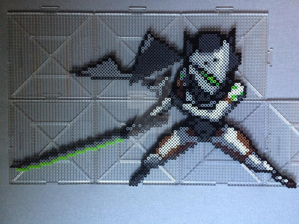Overwatch Genji Perler by TehMorrison on DeviantArt