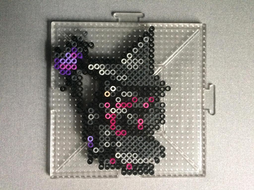 Final Fantasy XIV Black Mage Perler by TehMorrison