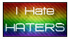 Haters Stamp by Kellyta20