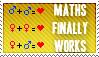 Maths Works Stamp by Kellyta20