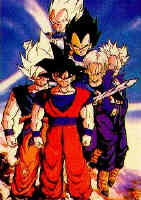 dragon ball z by wolfpack25