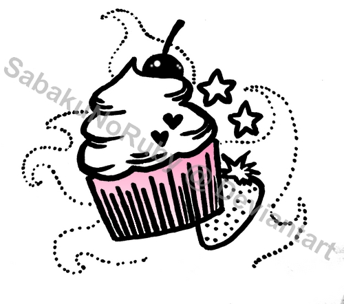 Cupcake Tattoo Design By Sabakunoruby On DeviantArt