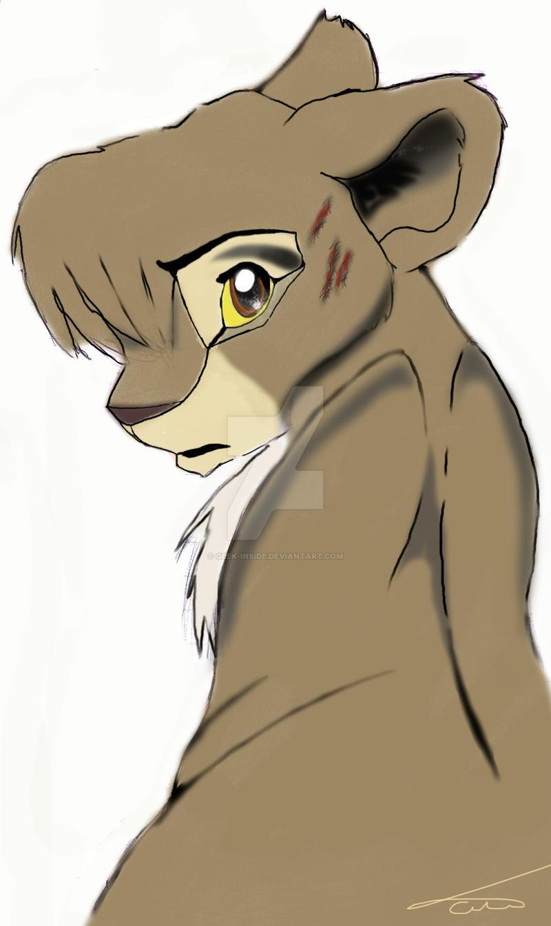 Little Lion by geek-inside