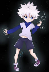 Killua ( EDITED ) by YazumiMisora