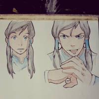 Korra Fan art by IamDeathskull