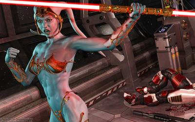 Sith Twi'lek by Dendory