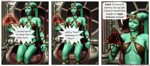 Twi'lek Sith comic 6 by Dendory