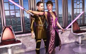 Jedi Training by Dendory