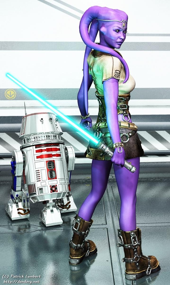 Twi'lek Jedi by Dendory