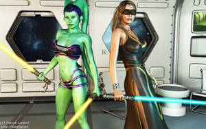 Jedi duo by Dendory