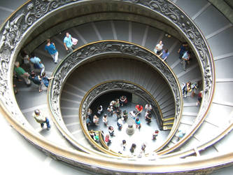 While exiting the Vatican museum... by veronicakni