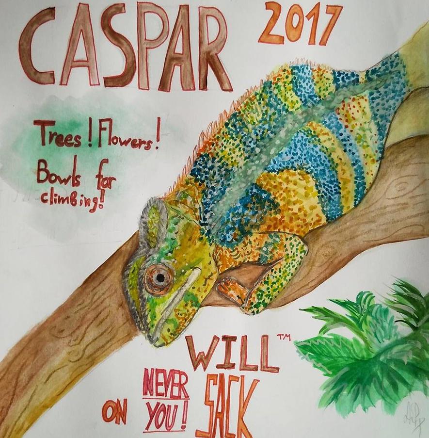 Cavetown's chameleon (Capsar) for president !! by Eliottanonymous