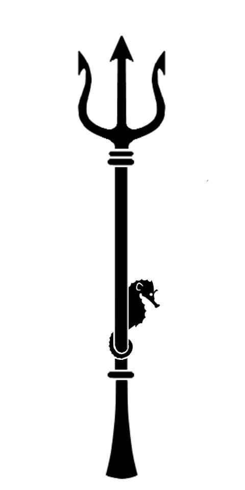 Poseidon Trident Tattoo by nirnaethedhellen on DeviantArt Poseidon Staff