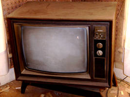 Old TV by Stock7000