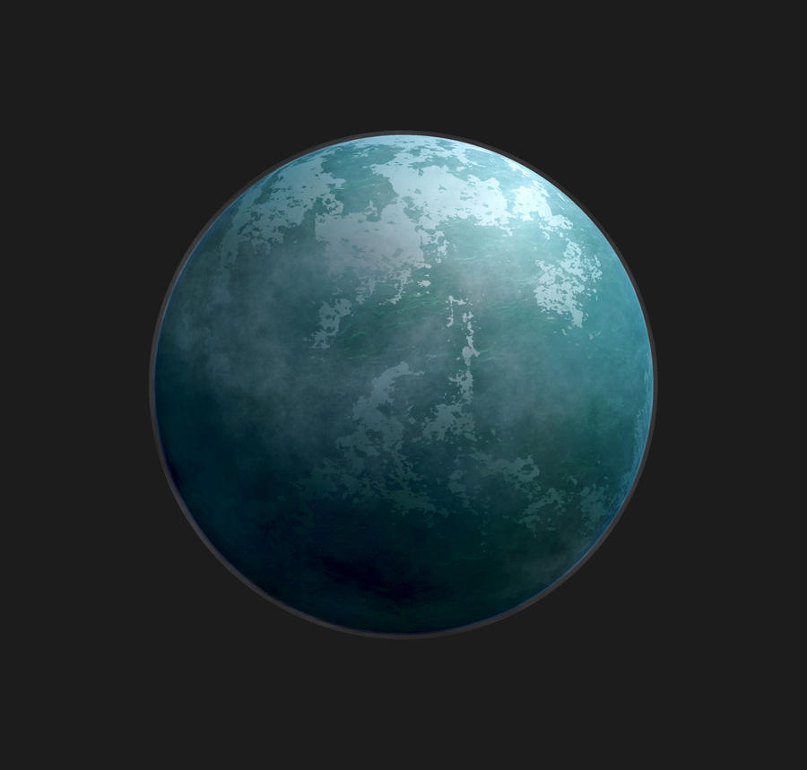 Planet - Ciano by Stock7000