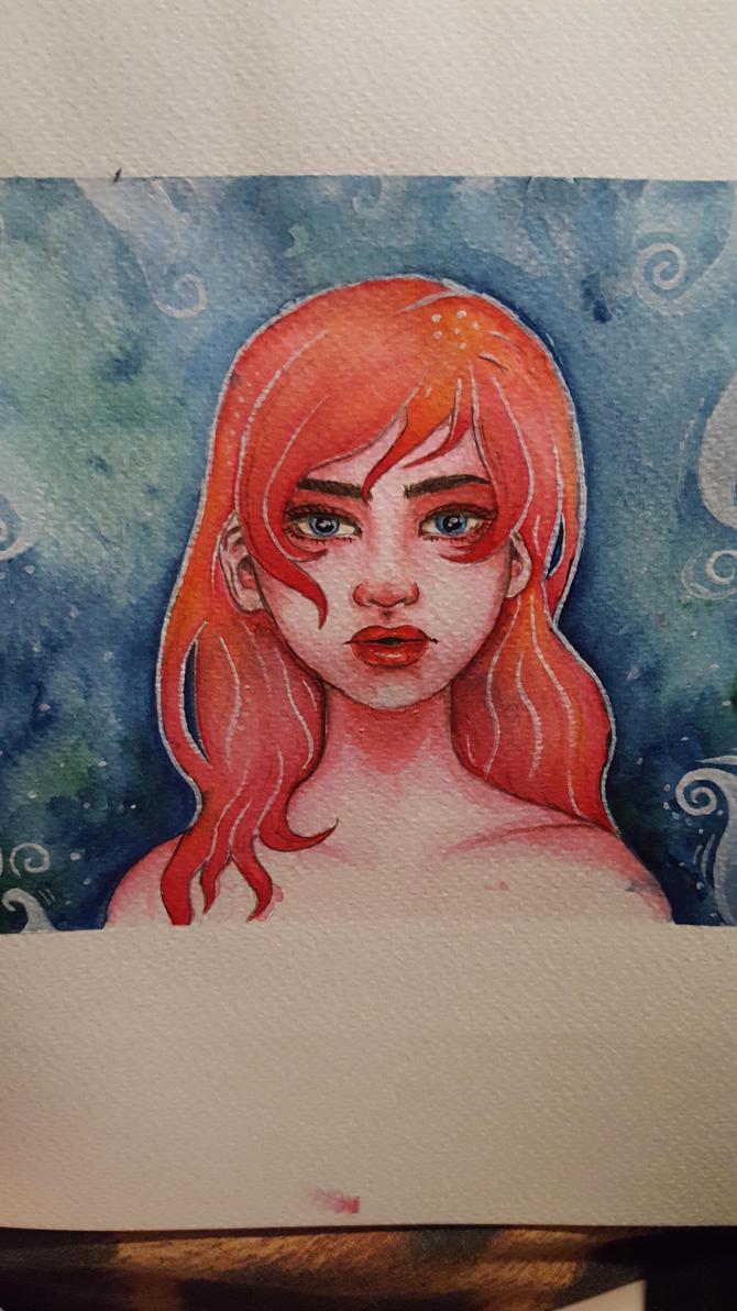 underwater girl by samishero