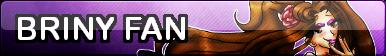 Briny Fan Button by Shaylo-Artistry