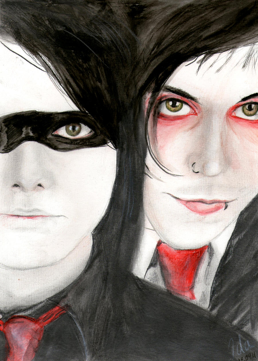 Gerard Way and Frank Iero by CoffeeNoise on DeviantArt