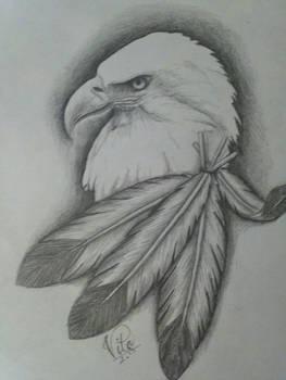 Eagle quick sketch