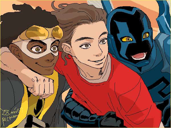 Virgil, Eddie and Jaime by Ricken-Art