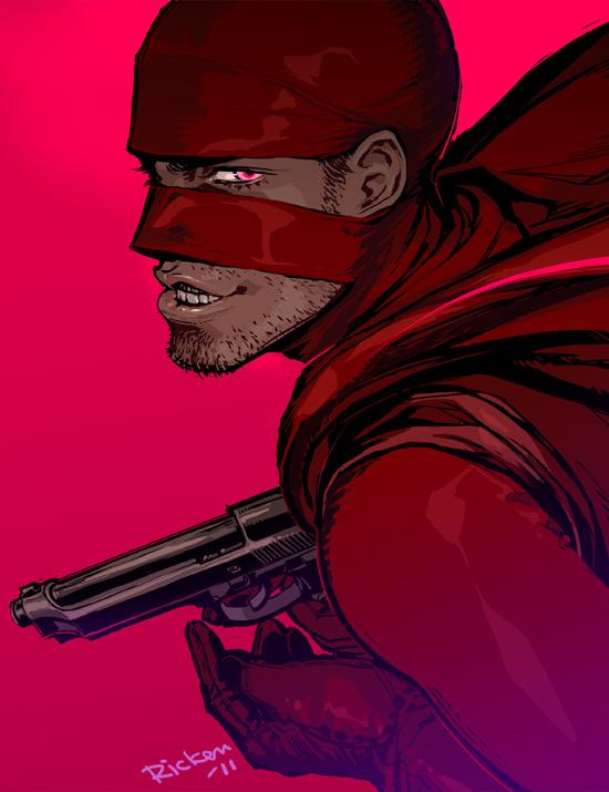 RED MIST: Comic Ver. by Ricken-Art