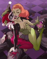 Harley and Ivy by Ricken-Art