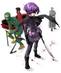 KICK-ASS: Hit-Girl standing