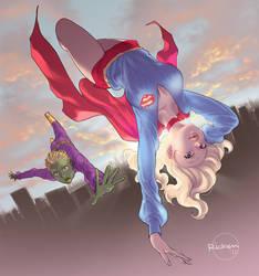 Brainy and Kara by Ricken-Art