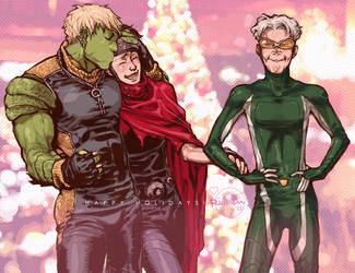YA: Happy Holidays by Ricken-Art
